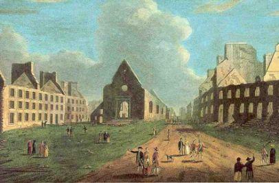 Campagne de Québec, après bombardement de la ville
