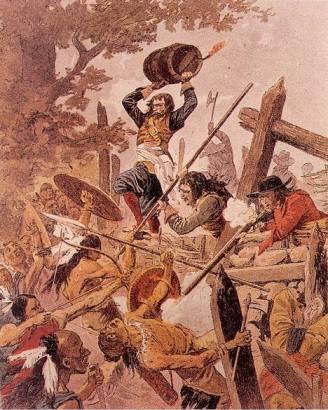 Bataille de Long-Sault en Nouvelle-France