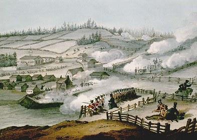 antipatriotes et patriotes - bataille st charles