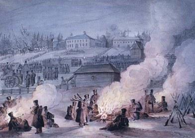 Assemblées de Saint-François : campement anglais
