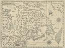 Carte géographique historique de 1612