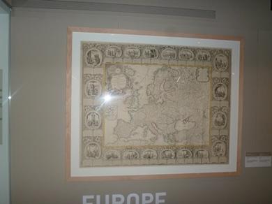 cartographie et une carte décorée