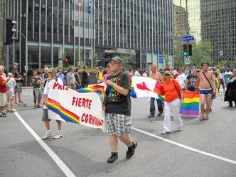 défilé de la fierté gay