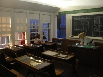 Éducation au Québec : école de rang