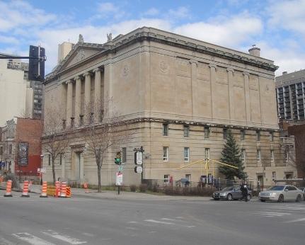 Francs-maçons du Québec: temple maçonnique