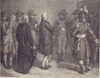 1793 roi part pour l'échafaud