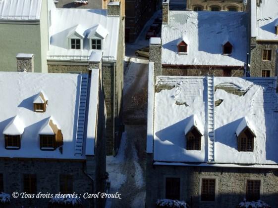 Ligne du temps 19e siècle - Québec en hiver