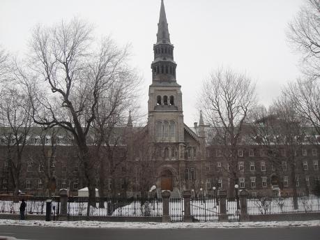 siège des soeurs grises de Montréal