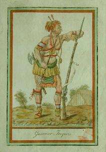 Coulée Grou - guerrier iroquois