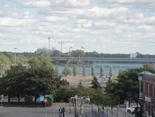 navigation à vapeur: port montreal voilier