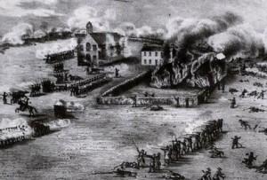Guérilla au Québec - Bataille d'Odelltown