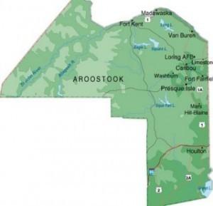 Guerre d'Aroostook - Comté d'Aroostook