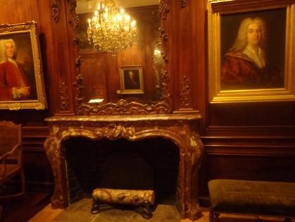 bibliothèque de Nicolet : salle château
