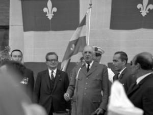 de Gaulle à Québec