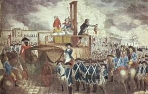Révolution au Canada - exécution du roi