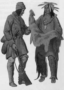 Fourures et indiens