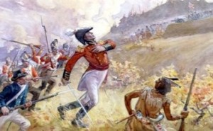 la guerre 1812 Mort du général Brock