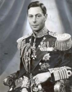 Visite du souverain - George VI