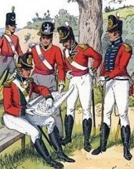 chasse aux sorcières : infanterie anglaise