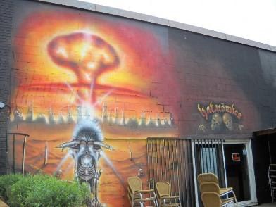 graffiti - littérature québécoise