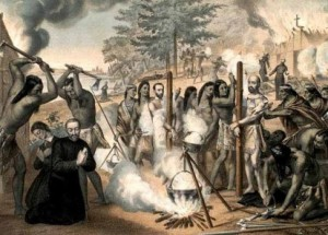 guerre indienne : Mort des pères jésuites