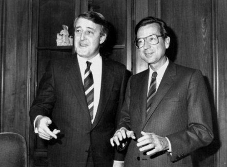 Mulroney et Bourassa