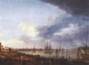 Menace de la flotte française
