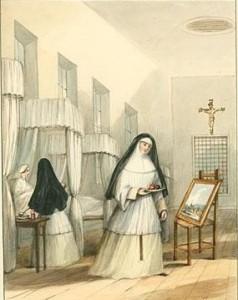 Hôtel-Dieu de Montréal : Religieuses de l'hôtel dieu de québec
