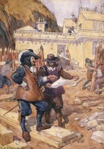 Conflit entre Français et Iroquois: Samuel de Champlain à Québec