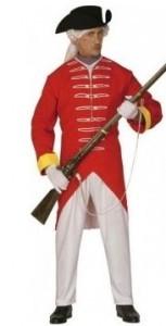 Soldat anglais du XVIIIe siècle
