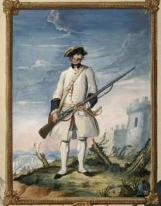 Saint-Joachim - Soldat de la marine française