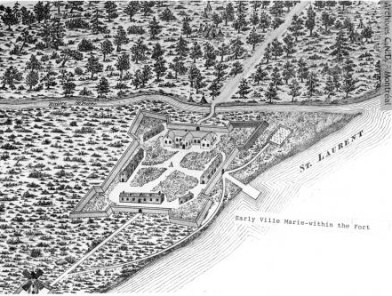 Ville-Marie : plan de la ville