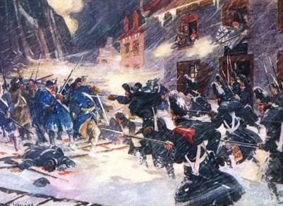 offensive américaine bataille pour la ville de Québec
