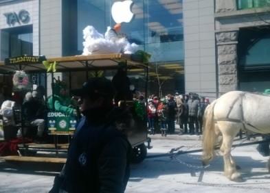 Immigration à Québec - St Patrick