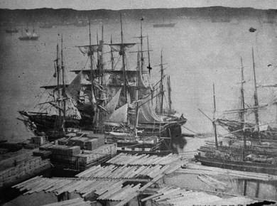 Port De Qubec Au 19e Sicle