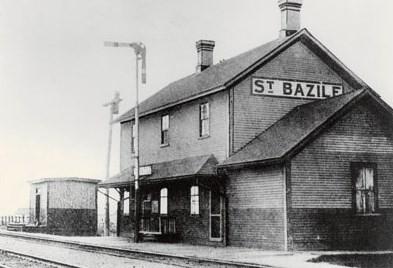 Gare de Saint-Basile