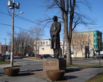 Monument à Laurier à Québec