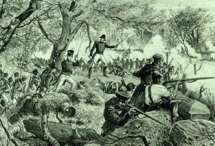 Bataille de Chateauguay.