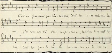 note musicale varennes