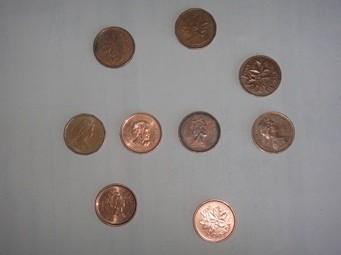 monnaie d'un sous