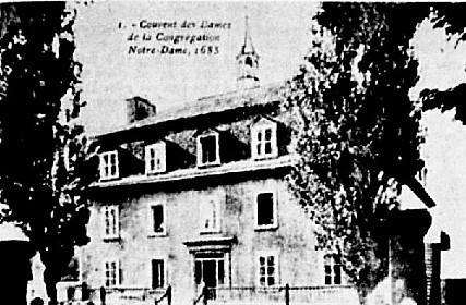 vieux couvent incendie île d'Orléans