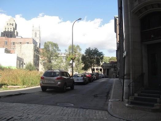 rue hôpital de Montréal