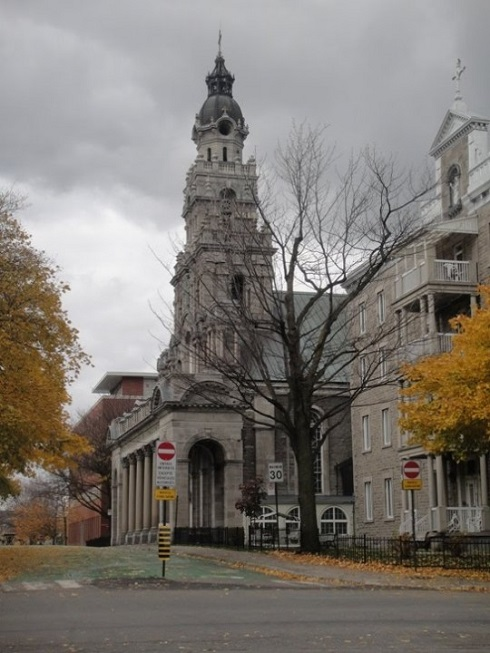 Église du Saint-Enfant-Jésus de Montréal. Photo : Histoire-du-Québec.ca