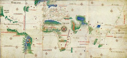 Planisphère de Cantino