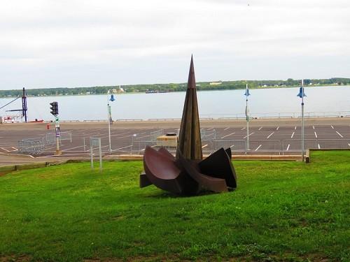 ancre parc portuaire Trois-Rivières