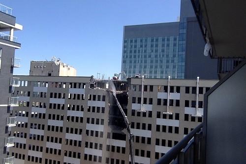 Hôpital St-Luc, démolition
