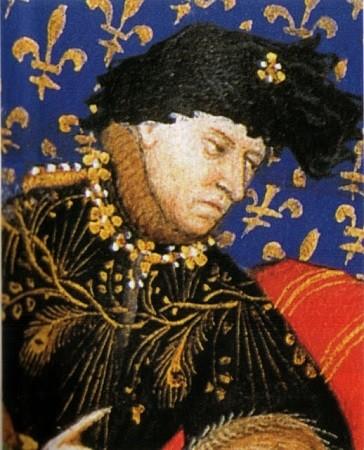 Le roi Charles VI, portrait de l'époque.