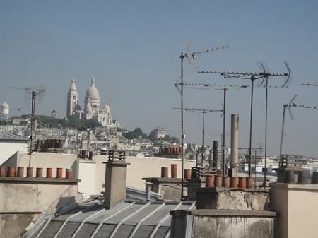 Les toits de Paris. Photographie par Megan Jorgensen.